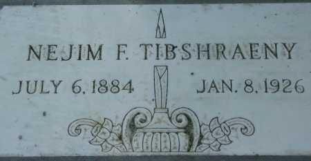 TIBSHRAENY, NEJIM F. - Maricopa County, Arizona | NEJIM F. TIBSHRAENY - Arizona Gravestone Photos