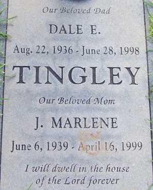 TINGLEY, DALE E. - Maricopa County, Arizona | DALE E. TINGLEY - Arizona Gravestone Photos