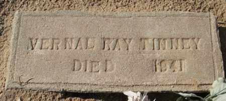 TINNEY, VERNAL RAY - Maricopa County, Arizona | VERNAL RAY TINNEY - Arizona Gravestone Photos