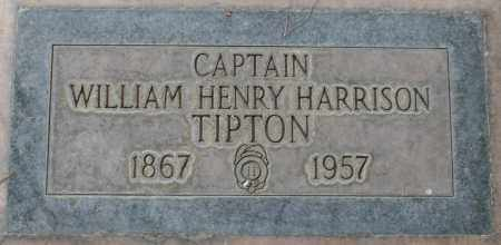 TIPTON, CAPTAIN WILLIAM HENRY HARRISON - Maricopa County, Arizona | CAPTAIN WILLIAM HENRY HARRISON TIPTON - Arizona Gravestone Photos