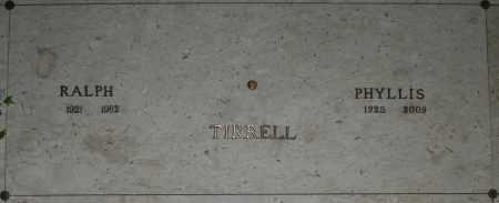 TIRRELL, PHYLLIS - Maricopa County, Arizona | PHYLLIS TIRRELL - Arizona Gravestone Photos