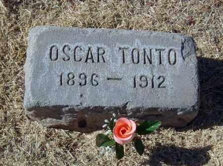 TONTO, OSCAR - Maricopa County, Arizona | OSCAR TONTO - Arizona Gravestone Photos