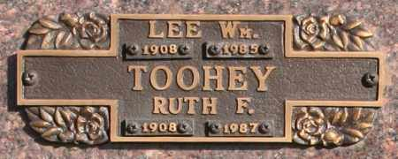 TOOHEY, LEE W - Maricopa County, Arizona | LEE W TOOHEY - Arizona Gravestone Photos