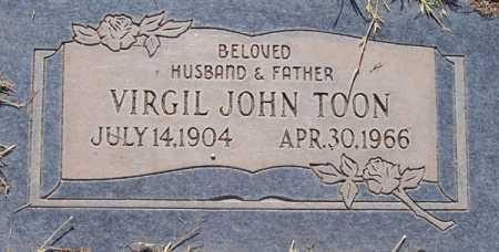 TOON, VIRGIL JOHN - Maricopa County, Arizona   VIRGIL JOHN TOON - Arizona Gravestone Photos