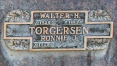 TORGERSEN, WALTER H - Maricopa County, Arizona | WALTER H TORGERSEN - Arizona Gravestone Photos