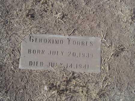 TORRES, JERONIMO - Maricopa County, Arizona   JERONIMO TORRES - Arizona Gravestone Photos