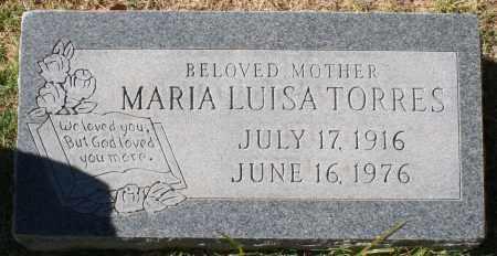 TORRES, MARIA LUISA - Maricopa County, Arizona | MARIA LUISA TORRES - Arizona Gravestone Photos