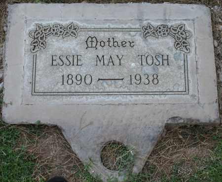 TRAVIS TOSH, ESSIE MAY - Maricopa County, Arizona   ESSIE MAY TRAVIS TOSH - Arizona Gravestone Photos