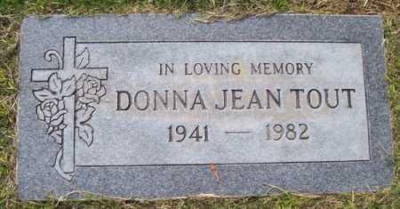 TOUT, DONNA JEAN - Maricopa County, Arizona | DONNA JEAN TOUT - Arizona Gravestone Photos