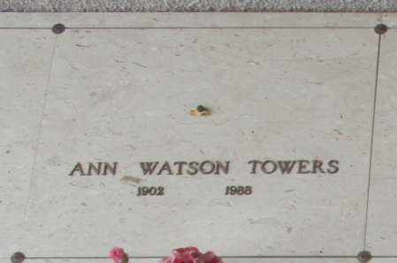 TOWERS, ANN - Maricopa County, Arizona | ANN TOWERS - Arizona Gravestone Photos