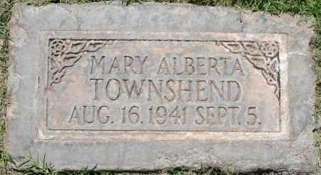TOWNSHEND, MARY ALBERTA - Maricopa County, Arizona   MARY ALBERTA TOWNSHEND - Arizona Gravestone Photos