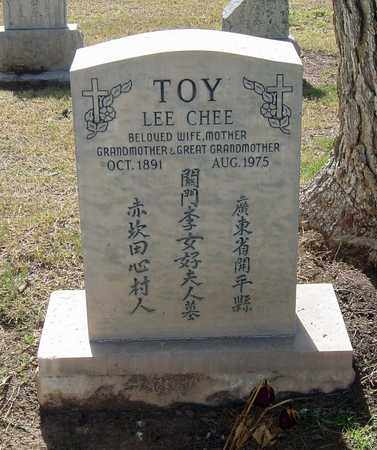 LEE TOY, LEE CHEE - Maricopa County, Arizona | LEE CHEE LEE TOY - Arizona Gravestone Photos