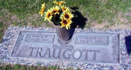 TRAUGOTT, EDWIN W. - Maricopa County, Arizona | EDWIN W. TRAUGOTT - Arizona Gravestone Photos