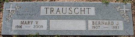 TRAUSCHT, MARY V - Maricopa County, Arizona | MARY V TRAUSCHT - Arizona Gravestone Photos