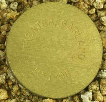 TRENTER, GARLAND - Maricopa County, Arizona | GARLAND TRENTER - Arizona Gravestone Photos