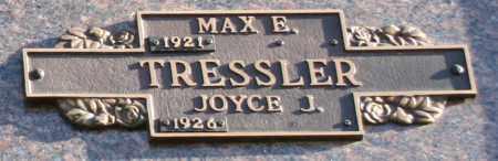 TRESSLER, JOYCE J - Maricopa County, Arizona | JOYCE J TRESSLER - Arizona Gravestone Photos