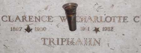 TRIPHAHN, CHARLOTTE C. - Maricopa County, Arizona   CHARLOTTE C. TRIPHAHN - Arizona Gravestone Photos