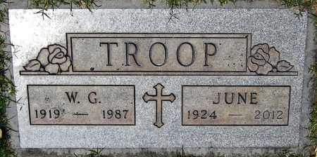TROOP, JUNE - Maricopa County, Arizona | JUNE TROOP - Arizona Gravestone Photos