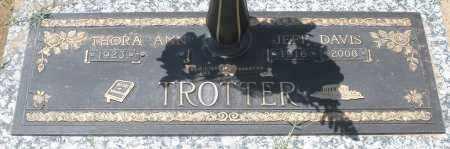 TROTTER, JEFF DAVIS - Maricopa County, Arizona   JEFF DAVIS TROTTER - Arizona Gravestone Photos