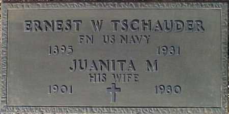 TSCHAUDER, JUANITA M. - Maricopa County, Arizona   JUANITA M. TSCHAUDER - Arizona Gravestone Photos