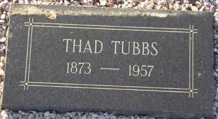 TUBBS, THAD - Maricopa County, Arizona   THAD TUBBS - Arizona Gravestone Photos