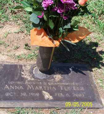 TUCKER, ANNA MARTHA - Maricopa County, Arizona | ANNA MARTHA TUCKER - Arizona Gravestone Photos