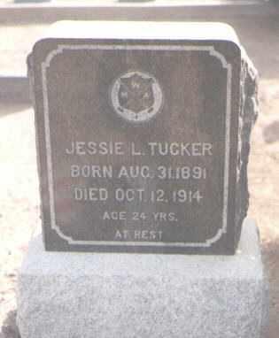 TUCKER, JESSIE L. - Maricopa County, Arizona | JESSIE L. TUCKER - Arizona Gravestone Photos