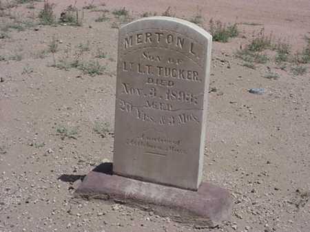 TUCKER, MERTON L. - Maricopa County, Arizona | MERTON L. TUCKER - Arizona Gravestone Photos