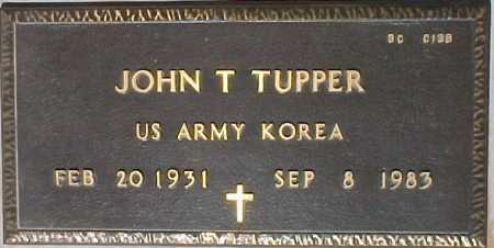 TUPPER, JOHN T. - Maricopa County, Arizona   JOHN T. TUPPER - Arizona Gravestone Photos