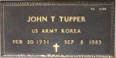 TUPPER, JOHN T. - Maricopa County, Arizona | JOHN T. TUPPER - Arizona Gravestone Photos