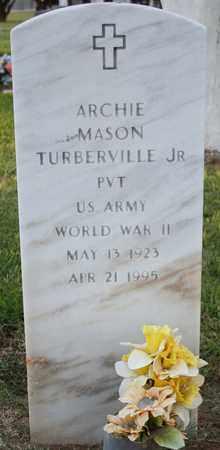 TURBERVILLE, ARCHIE MASON JR - Maricopa County, Arizona | ARCHIE MASON JR TURBERVILLE - Arizona Gravestone Photos