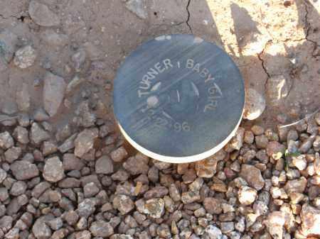 TURNER, BABY GIRL - Maricopa County, Arizona | BABY GIRL TURNER - Arizona Gravestone Photos
