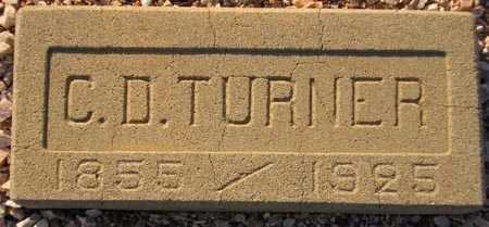 TURNER, C. D. - Maricopa County, Arizona   C. D. TURNER - Arizona Gravestone Photos