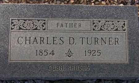 TURNER, CHARLES D. - Maricopa County, Arizona   CHARLES D. TURNER - Arizona Gravestone Photos