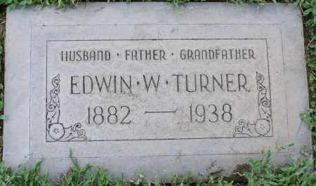 TURNER, EDWIN W. - Maricopa County, Arizona | EDWIN W. TURNER - Arizona Gravestone Photos