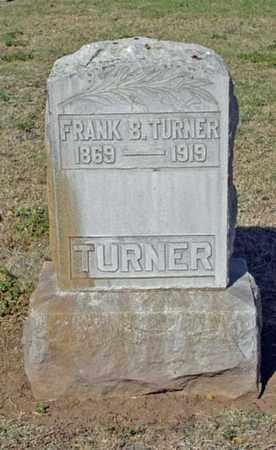 TURNER, FRANK B. - Maricopa County, Arizona | FRANK B. TURNER - Arizona Gravestone Photos
