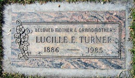 TURNER, LUCILLE E - Maricopa County, Arizona | LUCILLE E TURNER - Arizona Gravestone Photos