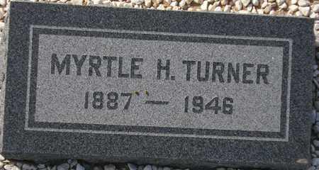 TURNER, MYRTLE H. - Maricopa County, Arizona | MYRTLE H. TURNER - Arizona Gravestone Photos