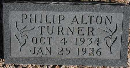 TURNER, PHILIP ALTON - Maricopa County, Arizona | PHILIP ALTON TURNER - Arizona Gravestone Photos