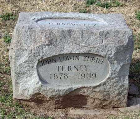 TURNEY, JOHN EDWIN ZURIEL - Maricopa County, Arizona | JOHN EDWIN ZURIEL TURNEY - Arizona Gravestone Photos