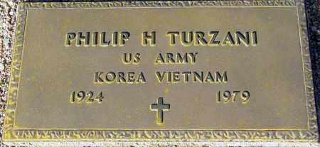 TURZANI, PHILLIP H. - Maricopa County, Arizona   PHILLIP H. TURZANI - Arizona Gravestone Photos
