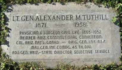 TUTHILL, ALEXANDER MACKENZIE - Maricopa County, Arizona | ALEXANDER MACKENZIE TUTHILL - Arizona Gravestone Photos