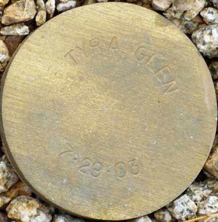 TYRA, GLEN - Maricopa County, Arizona | GLEN TYRA - Arizona Gravestone Photos