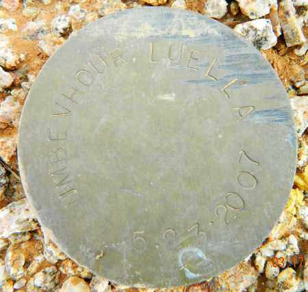 UMBE VHOUR, LUELLA - Maricopa County, Arizona | LUELLA UMBE VHOUR - Arizona Gravestone Photos