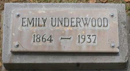 SMITH UNDERWOOD, EMILY - Maricopa County, Arizona   EMILY SMITH UNDERWOOD - Arizona Gravestone Photos