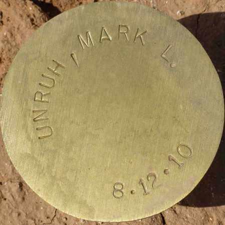 UNRUH, MARK L. - Maricopa County, Arizona   MARK L. UNRUH - Arizona Gravestone Photos