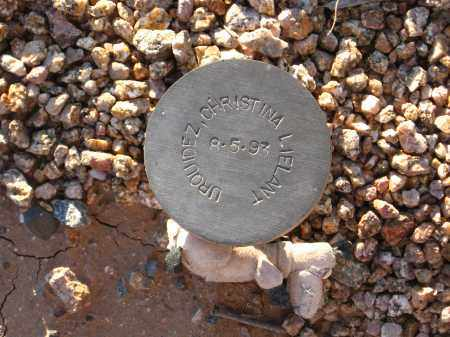 URQUIDEZ, CHRISTINA LIELANT - Maricopa County, Arizona | CHRISTINA LIELANT URQUIDEZ - Arizona Gravestone Photos