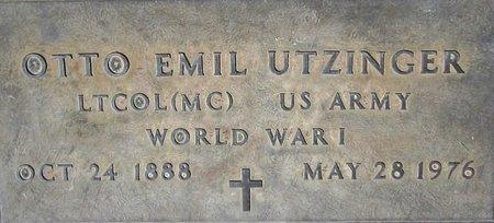 UTZINGER, OTTO EMIL - Maricopa County, Arizona | OTTO EMIL UTZINGER - Arizona Gravestone Photos