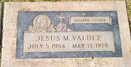 VALDEZ, JESUS M. - Maricopa County, Arizona   JESUS M. VALDEZ - Arizona Gravestone Photos