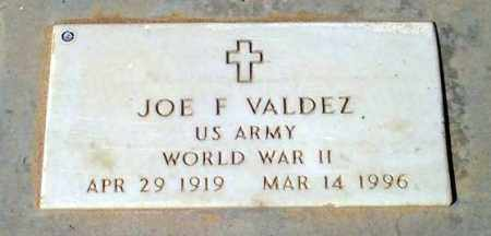 VALDEZ, JOE F. - Maricopa County, Arizona | JOE F. VALDEZ - Arizona Gravestone Photos